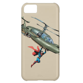 Superman holds helicopter iPhone 5C covers