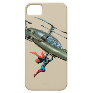 Superman holds helicopter iPhone 5 cases