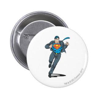 Superman in Business Garb 2 Inch Round Button
