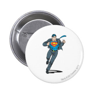 Superman in Business Garb Pin