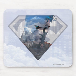 Superman in S-Shield Mouse Pad