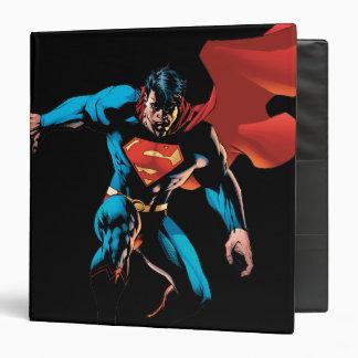 Superman in Shadow Vinyl Binders