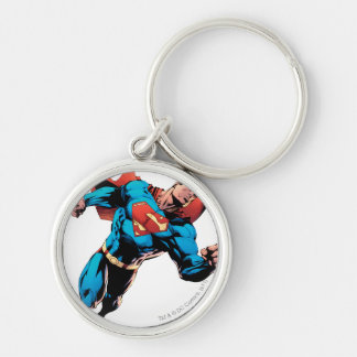 Superman in suit key chain