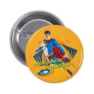 Superman Intergalactic Protector Button