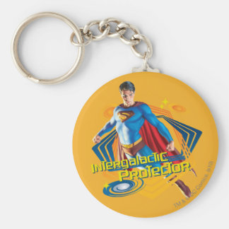 Superman Intergalactic Protector Keychain