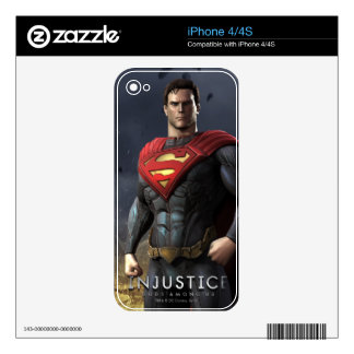 Superman iPhone 4 Decal