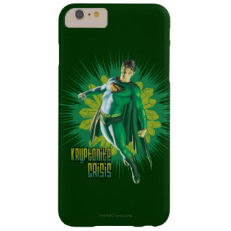 Superman Kryptonite Crisis Barely There iPhone 6 Plus Case