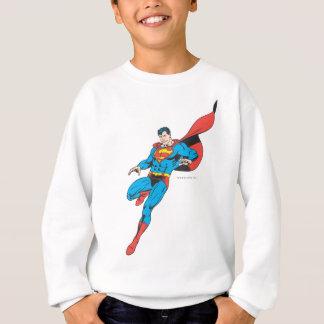 Superman Lands Lightly 2 Sweatshirt