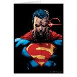 Superman - Laser Vision Card