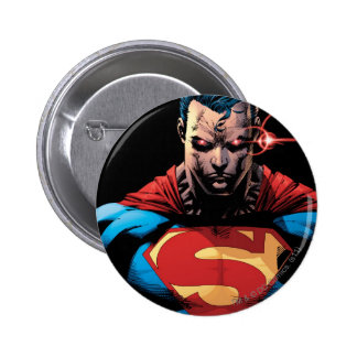 Superman - Laser Vision Pinback Button