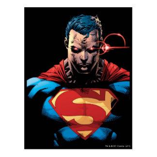 Superman - Laser Vision Postcard