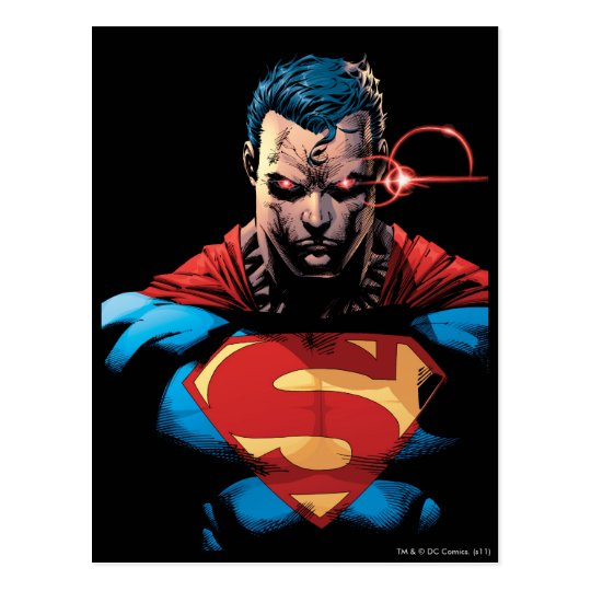 Superman - Laser Vision Postcard