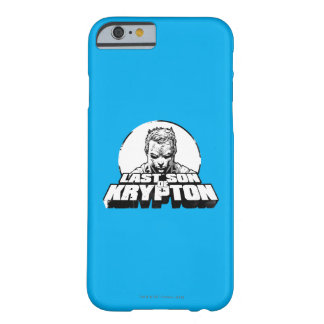 Superman Last Son of Krypton Barely There iPhone 6 Case