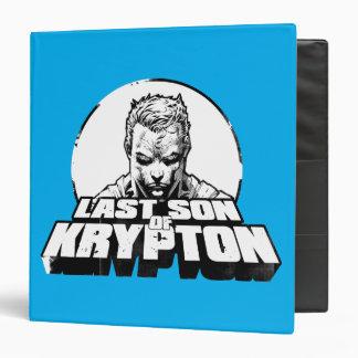Superman Last Son of Krypton Vinyl Binders