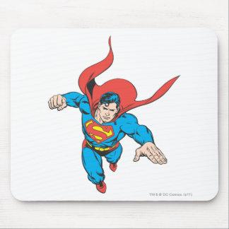 Superman Leaps Forward Mouse Pad