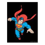 Superman Leaps Forward Postcard