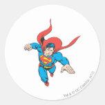 Superman Leaps Forward Sticker
