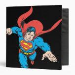 Superman Leaps Forward Vinyl Binders
