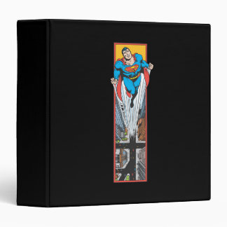 Superman Leaps From the Street Binder