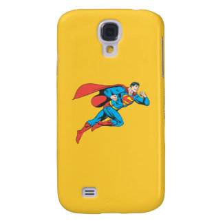 Superman Leaps Right Samsung Galaxy S4 Case