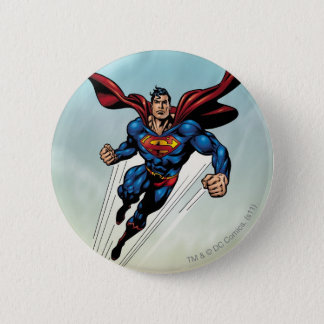 Superman leaps upward button