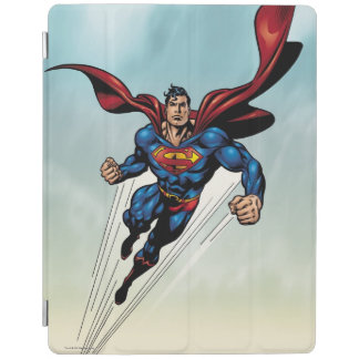 Superman leaps upward iPad smart cover