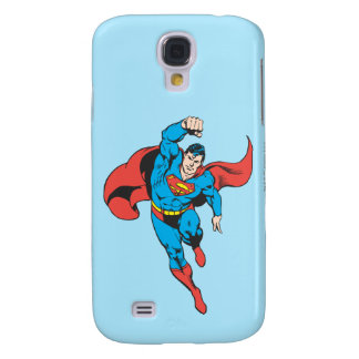 Superman Left Fist Raised Samsung Galaxy S4 Covers