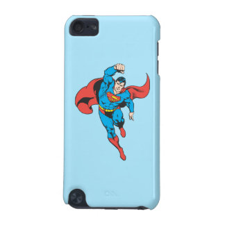 Superman Left Fist Raised iPod Touch 5G Cases