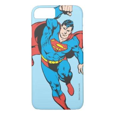 Superman Left Fist Raised iPhone 8/7 Case