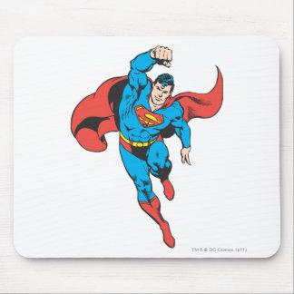 Superman Left Fist Raised Mouse Pad