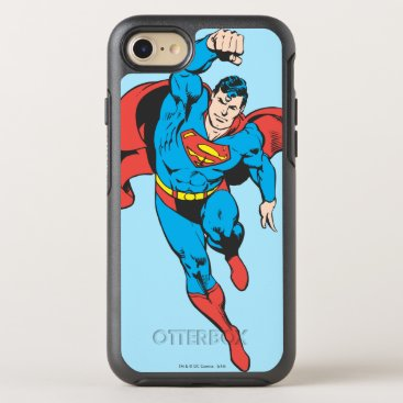 Superman Left Fist Raised OtterBox Symmetry iPhone 8/7 Case