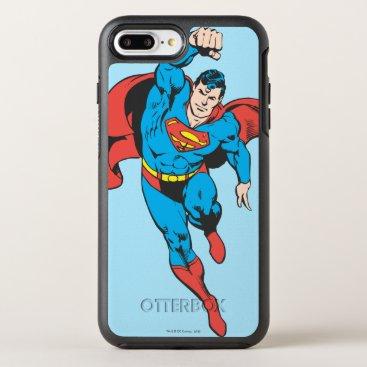 Superman Left Fist Raised OtterBox Symmetry iPhone 8 Plus/7 Plus Case