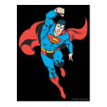 Superman Left Fist Raised Post Card