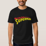 Superman Letters Yellow/Red T Shirts