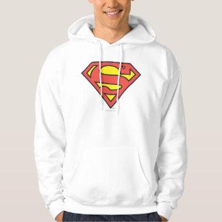 Superman Logo Hooded Pullover