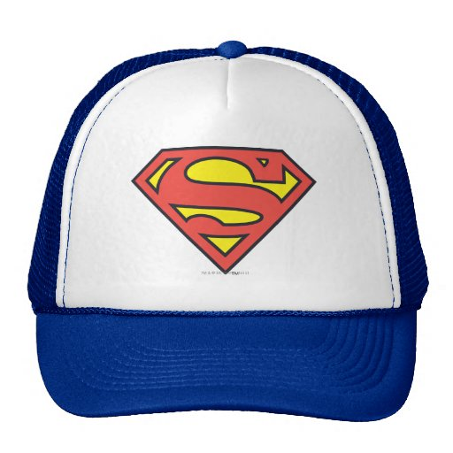 Superman Logo Mesh Hats