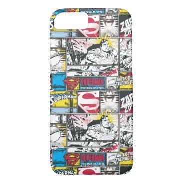 Superman Logo Pattern 2 iPhone 8/7 Case