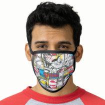 Superman Logo Pattern 2 Face Mask