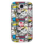 Superman Logo Pattern 2 Galaxy S4 Cases