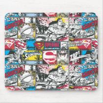 Superman Logo Pattern 2 Mouse Pad