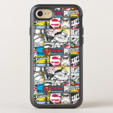 Superman Logo Pattern 2 OtterBox Symmetry iPhone 8/7 Case