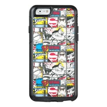 Superman Logo Pattern 2 OtterBox iPhone 6/6s Case