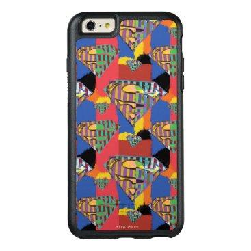 Superman Logo Pattern 3 OtterBox iPhone 6/6s Plus Case