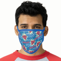 Superman Logo Pattern Face Mask