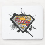 Superman, Logo with letters Mouse Pad