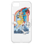 Superman & Lois in Yellow iPhone 5C Covers