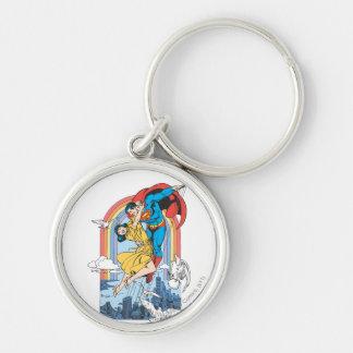Superman & Lois in Yellow Key Chain