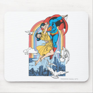 Superman & Lois in Yellow Mousepads
