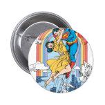 Superman & Lois in Yellow Pin