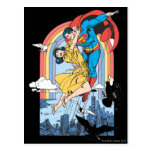 Superman & Lois in Yellow Post Card